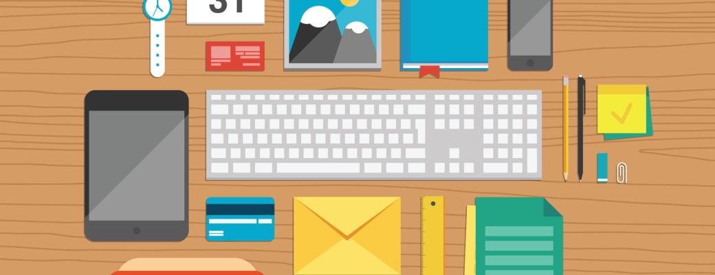 photodune-6171826-office-elements-on-desktop-illustration-m
