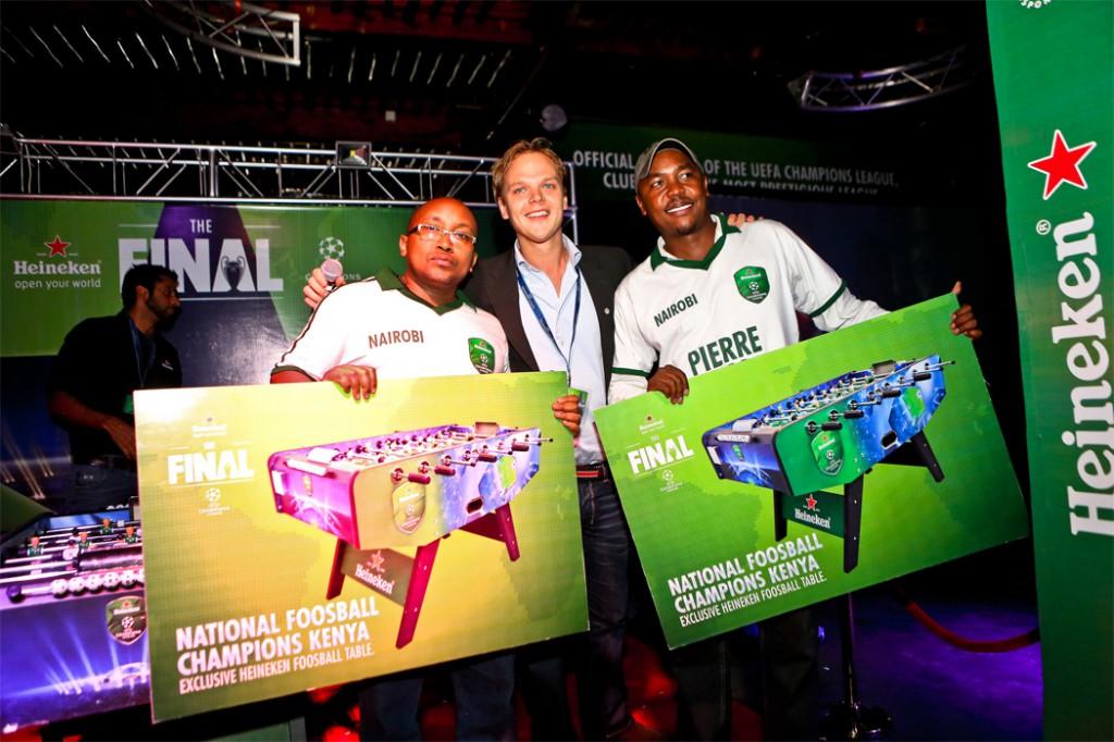UCL FINAL 2013 - Nairobi